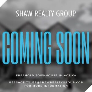 FREEHOLD TOWNHOUSE COMING UP IN ACTIVA!