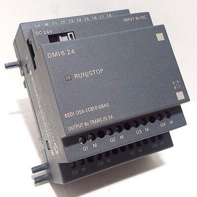 Newsiemens 6ed1055-1cb10-0ba0logo Dm16 24 Input Voltage 24 V Dcno Box