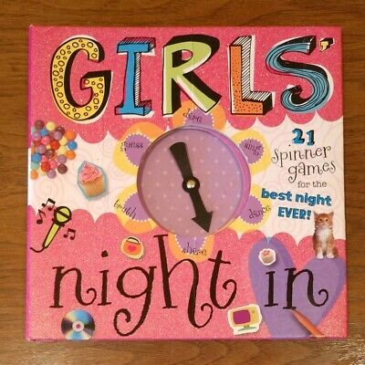 Girls' Night In 21 Spinner Games for the Best Night Ever by T. Bugbird used  - Best Games For Game Night