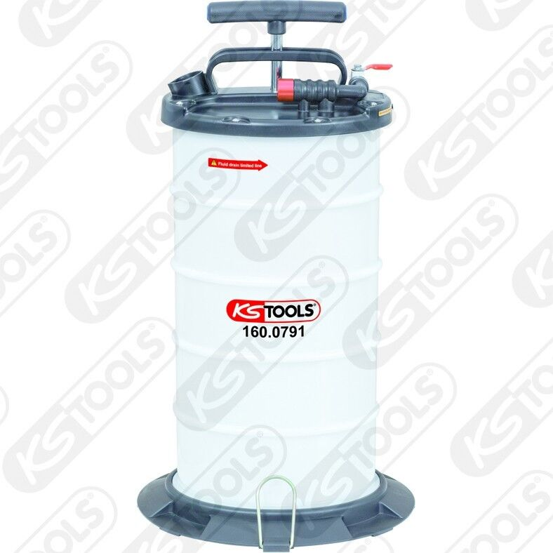 Ks tools Vakuum-Absaugpumpen-Grundgerät, 9, 5 Liter 160.0791
