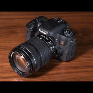 canon t6s camera body w warranty