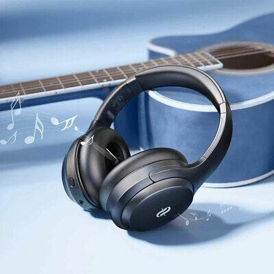 TaoTronics SoundSurge 90 Hybrid Active Noise Cancelling Bluetooth Headphones New