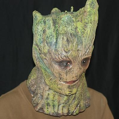 Guardians Of The Galaxy Groot Mask Tree Aliens Prop Masquerade Halloween Cosplay