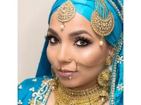 Hair and makeup artist. Asian bridal hair, make up and mendi. Mua