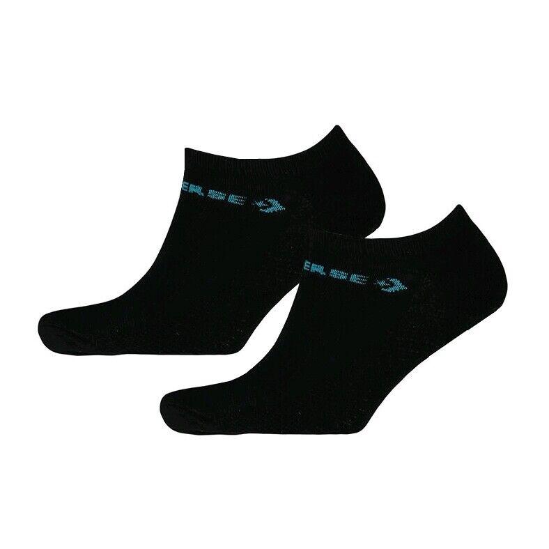 Converse Herren Halb Kissen Low Cut Knöchel Sneaker Socken Schwarz > UK 6-11 Eu