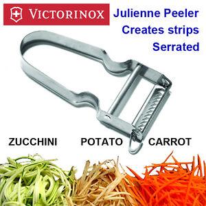 Victorinox Star Julienne Peeler,Vegetable Peeler, Peels in Strips, Made in Swiss