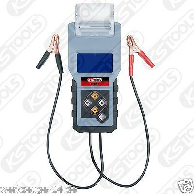 Usado, Ks Tools 12V Digital-Batterietester con Integrado Impresora 550.1646 Aparato de segunda mano  Embacar hacia Argentina