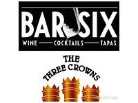 Bar / Pub / Staff Required