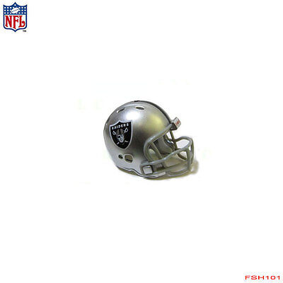Oakland Raiders Revolution - New NFL Oakland Raiders Riddell Revolution Pocket Pro Mini Football Helmet