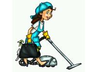 Independent female domestic cleaner