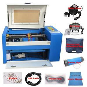 Laser Engraving 50W CO2 High Precision DSP Control Engraver Cutter Fantastic 3050 110V 017025