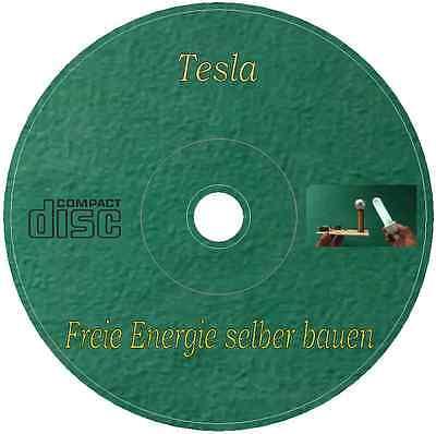Tesla - Freie Energie selber bauen Generator Spule Magnetmotor + Patente + Bonus