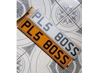 Boss Private Plate Personal Cherished Ready To Assign Suites Audi Bmw Merc Vw Vauxhall ETC ETC
