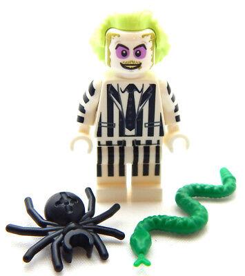NEW LEGO BEETLEJUICE MINIFIG halloween minifigure Betelgeuse 71349 - Halloween Legos