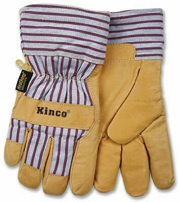 Kinco Extra Large Lined Pigpalm Glove 1927xl Thermal Lined Leather Gloves New