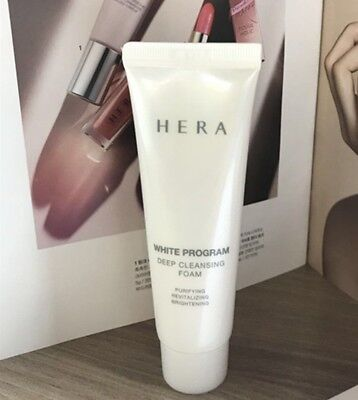 Hera  White Program Cleansing Foam 50ml* Amore Pacific+ Free Gift