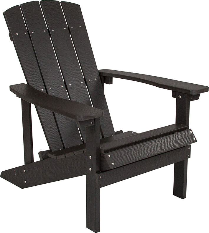 Astonishing Details About Adirondack Chair In Gray Faux Wood Charlestown All Weather Outdoor Beach Chair Gamerscity Chair Design For Home Gamerscityorg