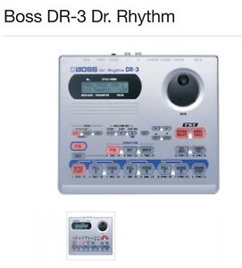 Boss DR-3 Dr. Rhythm Sunbury Hume Area Preview