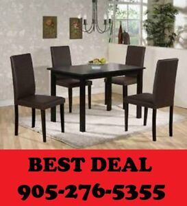 5pcs Dining Set Lowest Prices Guaranteed Only $199.00
