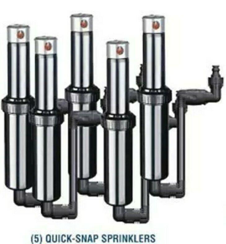 5 Pack Quick-Snap QSK-745 in Ground 5 inch Pop-Up Adjustable Sprinklers