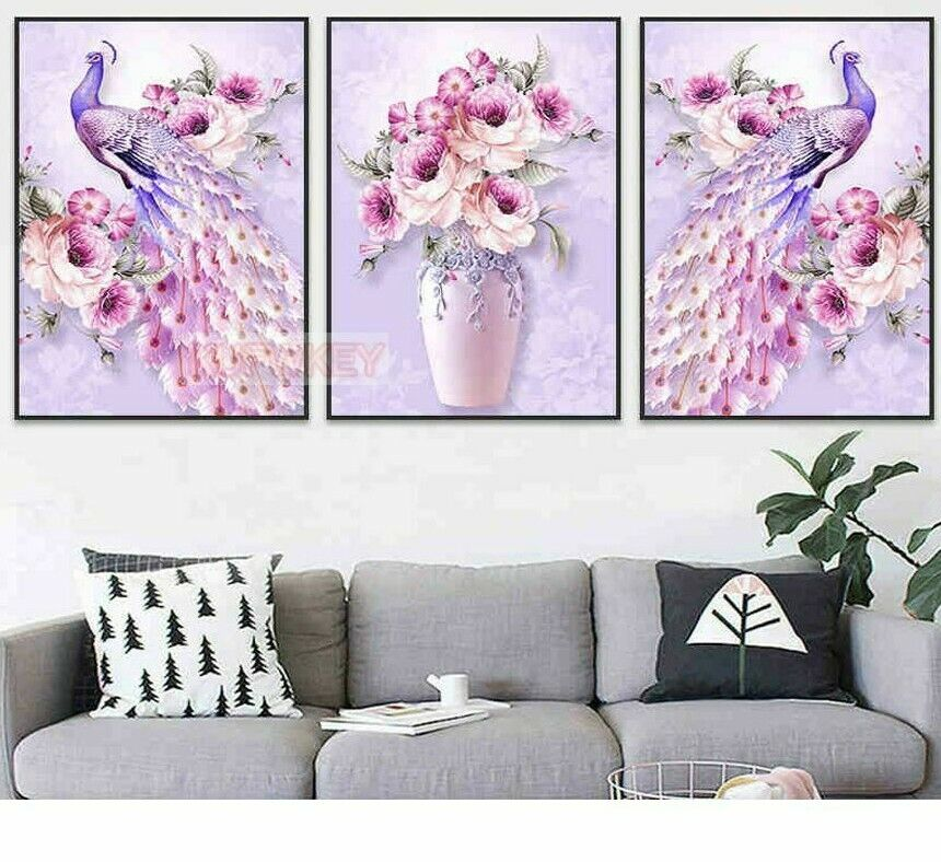 Diamond Embroidery 5D Paintings Japanese Animation Style Multi-Pics Combinations