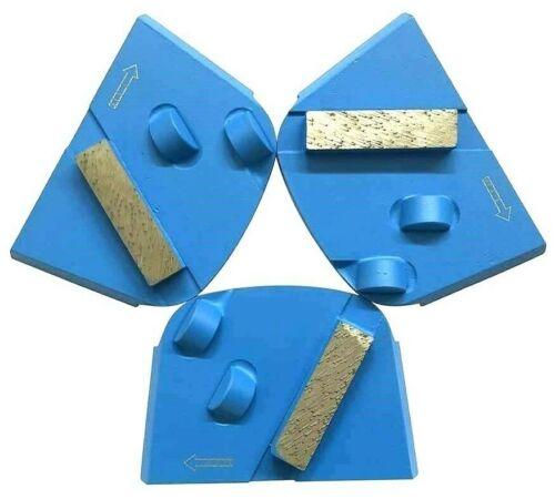 GENUINE Edco Magna Trap Half Round PCD Diamond Segment Concrete Floor Grinder