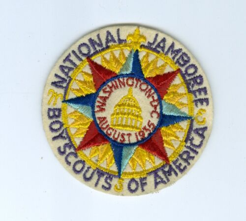 1935 National Jamboree original felt pocket patch