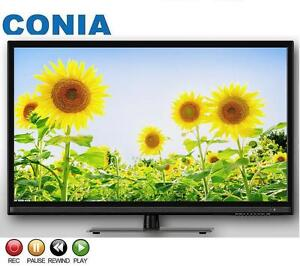 CONIA 46 Inch LCD LED TV SMART WIFI FULL HD FRAMELESS Flat Screen Digital USB