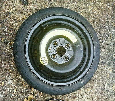 """VAUXHALL VIVA 2014-2018 SPACE SAVER 14"""" SPARE WHEEL & TYRE FAST AND FREE POSTAGE"""