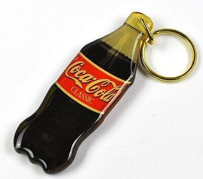 Coca Cola Classic Flasche Schlüsselanhänger Coke bottle keychain 1980 USA