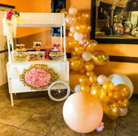 Candy cart/sweets cart rental. Starting at $180