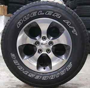 BRAND NEW Jeep wrangler rims and TIRES
