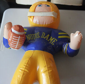 NOTRE DAME FIGHTING IRISH FOOTBALL INFLATABLE PLAYER