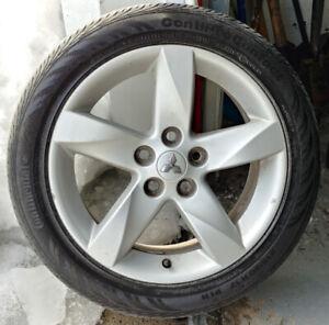 Mags pour : Mitsubishi Eclipse, lancerPneus : 215-50-17