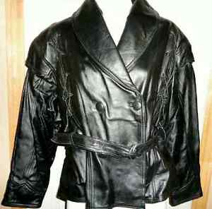 WOMEN DESIGNER SHEEP LEATHER JACKET - BRAND NEW