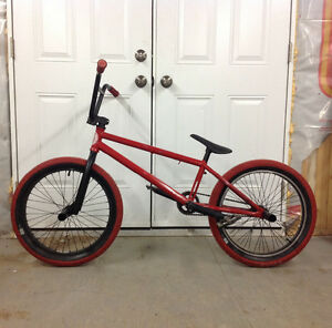 Custom Red Eastern BMX