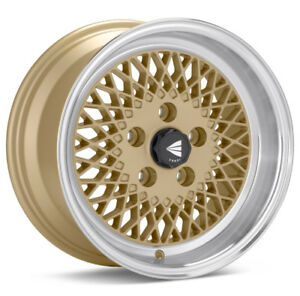 15inch Real Enkei Style 92 wheels Gold 4x100