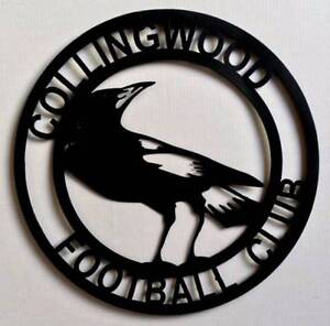 Colllingwood Magpies Football Club Metal Wall Art - AFL Carramar Wanneroo Area Preview