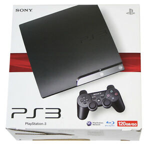 PS3 120GB Slim with 18 games and 2 controllers