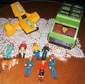 FISHER PRICE ADVENTURE/ACTION SERIES TOYS.