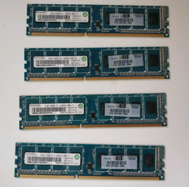 HP DDR3 4GB(4x1GB) kit