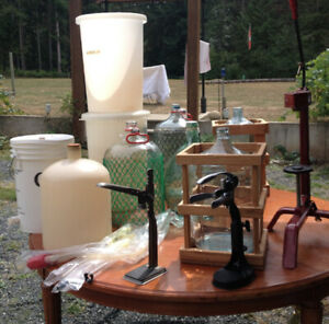 Lot Of Wine And Beer Making Supplies