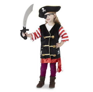 Brand New Melissa & Doug Pirate Role Play Costume