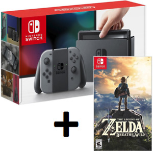New NINTENDO SWITCH CONSOLE + LEGEND OF ZELDA With Store Receipt