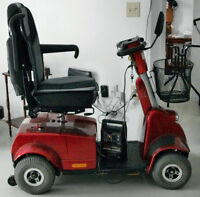 Handicare Fortress 1700 Four wheel Scooter