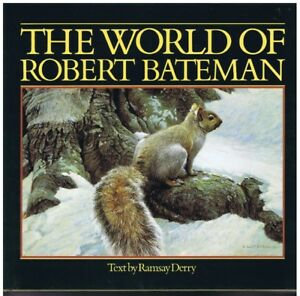 2 The World of Robert Bateman Books - Signed