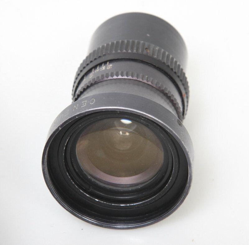 Century 10mm f1.8 c mount Lens, cine 16mm bolex filmo