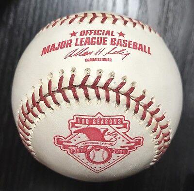 Rawlings 2001 100th Anniversary Official Major League Game Baseball SWEET!!!