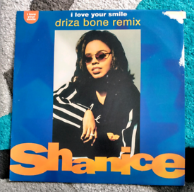 """Shanice I love your smile 12"""" vinyl record"""