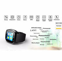 Bluetooth Smart Wrist Watch sync with IOS Android iPhone